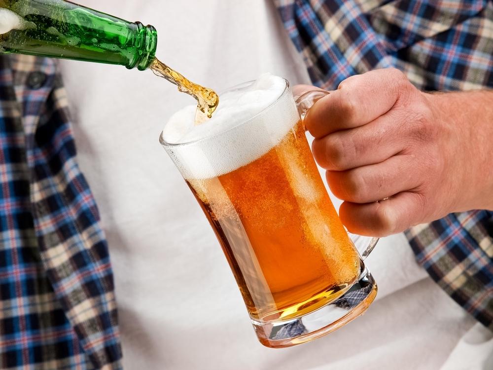 Als je psoriasis hebt kun je beter geen alcohol nuttigen....